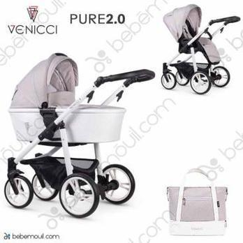 Venicci Pure 2.0 2 piezas dúo Vanilla