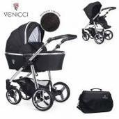 Cochecito de bebé Venicci Silver 2 in 1 Duo Wild Black