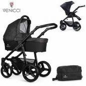 Cochecito de bebé Venicci Soft 2 in 1 Duo Denim Black