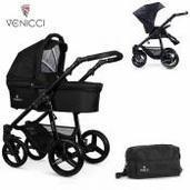 Cochecito de bebé Venicci Soft 2 in 1 Duo Black