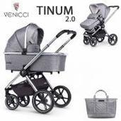 Venicci Tinum 2.0 2 piezas dúo Rock Graphite