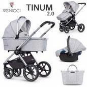 Venicci Tinum 2.0 3 piezas trío City Grey