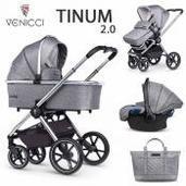 Venicci Tinum 2.0 3 piezas trío Rock Graphite