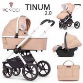 Venicci Tinum 2.0 3 piezas trío Magnetic Grey