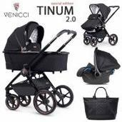 Venicci Tinum 2.0 3 piezas trío Stylish Black SE