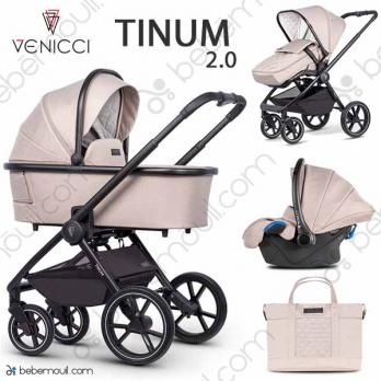 Venicci Tinum 2.0 3 piezas trío Sabbia